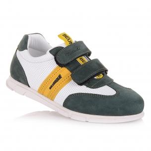 Дитяче взуття PERLINKA ( Комбіновані кросівки на двох липучках)