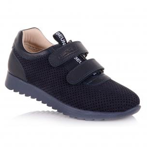 Дитяче взуття PERLINKA ( Кросівки на хлопчика в темно-синьому кольорі)