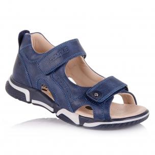 Детская обувь PERLINKA (Кожаные босоножки на двух липучках)