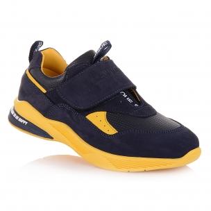 Дитяче взуття PERLINKA (Модні кросівки на жовтій підошві)