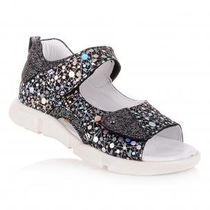 Детская обувь PERLINKA (Полузакрытые босоножки на двух липучках)