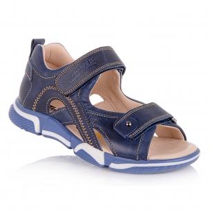 Детская обувь PERLINKA (Кожаные полузакрытые босоножки)