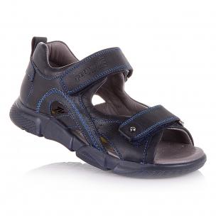 Детская обувь PERLINKA (Спортивные босоножки темно-синего цвета)