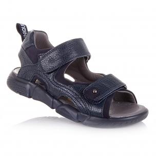 Детская обувь PERLINKA (Стильные босоножки в темно-синем цвете)