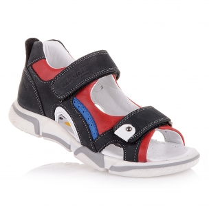 Дитяче взуття PERLINKA (Напівзакриті босоніжки на двух липучках)