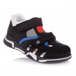 Дитяче взуття PERLINKA (Закриті босоніжки з нубуку)