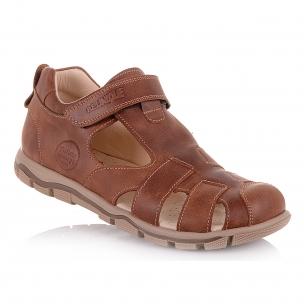 Детская обувь PERLINKA (Кожаные закрытые босоножки)