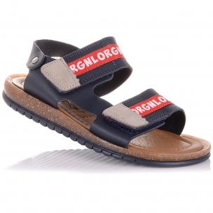 Дитяче взуття PERLINKA ( Шкіряні босоніжки на липучках)