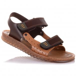Дитяче взуття PERLINKA (Шкіряні босоніжки на двох липучках)
