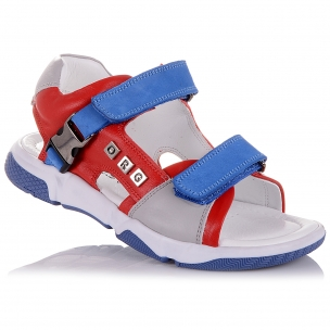 Дитяче взуття PERLINKA ( Яскраві босоніжки на липучках)