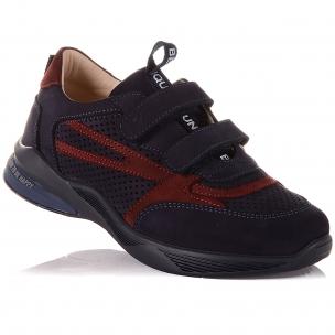 Дитяче взуття PERLINKA (Темно-сині кросівки з яскравими вставками)