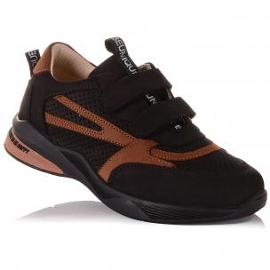 Дитяче взуття PERLINKA ( Кросівки з нубуку на липучках)
