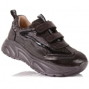Дитяче взуття PERLINKA (Сріблясті кросівки з нубуку)