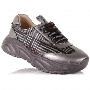 Дитяче взуття PERLINKA ( Стильні кросівки зі шкіри для школи)