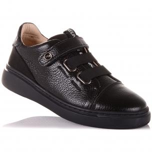 Дитяче взуття PERLINKA (Мокасини зі шкіри на гумці і липучці)