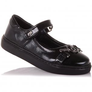 Детская обувь PERLINKA (Лаковые туфли с элементом декора )