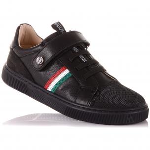 Детская обувь PERLINKA (Школьные мокасины с элементами декора)