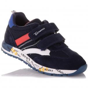 Детская обувь PERLINKA (Стильные кроссовки на синей подошве)
