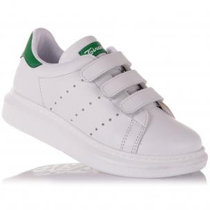 Детская обувь PERLINKA (Школьные кроссовки из натуральной кожи)