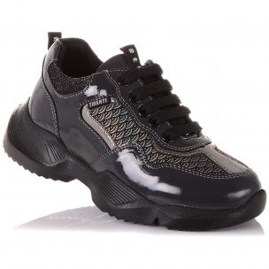 Детская обувь PERLINKA (Стильные кроссовки из нубука для школы)