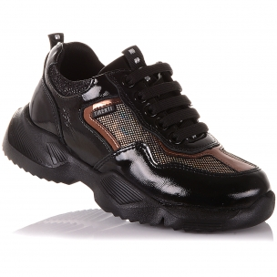 Дитяче взуття PERLINKA ( Кросівки з нубуку, на шнурівках)