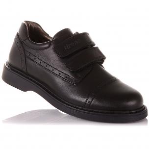 Детская обувь PERLINKA (Туфли из натуральной кожи на двух липучках )