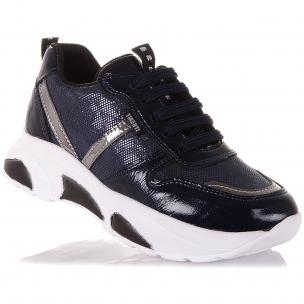 Детская обувь PERLINKA (Кроссовки из нубука на шнуровке)