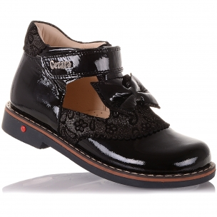 Дитяче взуття PERLINKA (Туфлі з лакової шкіри з бантом)