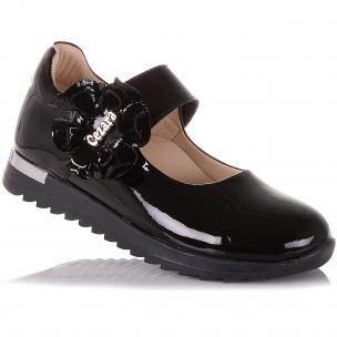 Дитяче взуття PERLINKA ( Лакові туфлі на ребристою підошві)