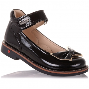 Дитяче взуття PERLINKA (Лакові туфлі з бантом)