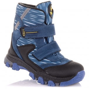 Детская обувь PERLINKA (Теплые зимние ботинки на липучках)