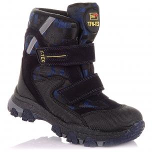 Детская обувь PERLINKA (Зимние ботинки из замши и текстиля )