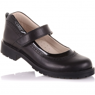 Дитяче взуття PERLINKA (Туфлі з натуральної шкіри на липучці)