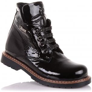 Дитяче взуття PERLINKA ( Лакові демісезонні черевики на ортопедичної підошві)
