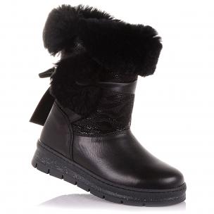 Детская обувь PERLINKA (Зимние сапоги из кожи и нубука)