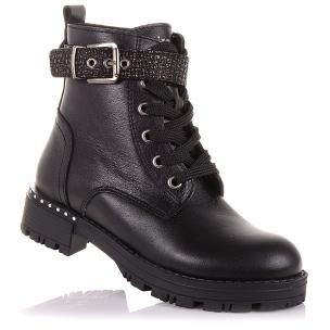 Детская обувь PERLINKA (Стильные зимние ботинки на массивной подошве)