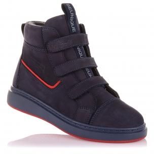 Детская обувь PERLINKA (Стильные демисезонные ботинки на яркой подошве)