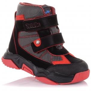 Дитяче взуття PERLINKA ( Демісезонні черевики з прогумованим носком на липучках)