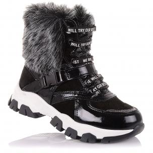 Детская обувь PERLINKA (Модные демисезонные ботинки на шнурках и на молнии)