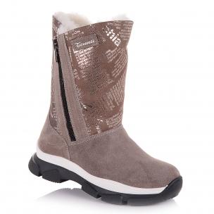 Дитяче взуття PERLINKA (Зимові чоботи із замші)