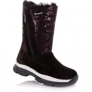 Детская обувь PERLINKA (Зимние сапоги из замши)