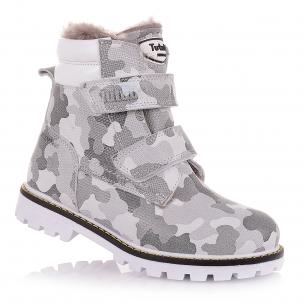 Дитяче взуття PERLINKA ( Зимові черевики на двох липучках)