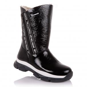 Детская обувь PERLINKA (Зимние сапоги из лакированной кожи)