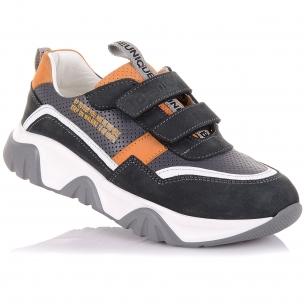 Детская обувь PERLINKA (Стильные кроссовки из кожи и нубука)