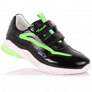 Детская обувь PERLINKA (Кроссовки из лаковой кожи на липучках)