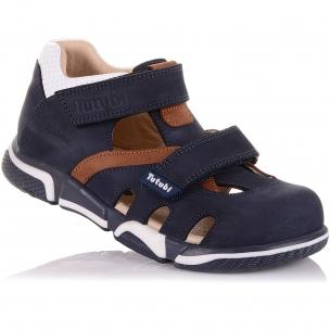 Детская обувь PERLINKA (Босоножки из нубука, на липучках)