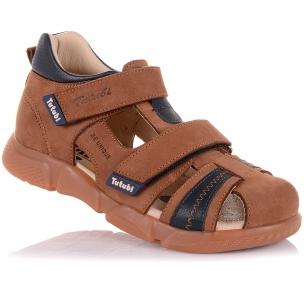 Детская обувь PERLINKA (Закрытые босоножки на липучке)