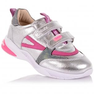 Детская обувь PERLINKA (Кроссовки из кожи с яркими элементами )