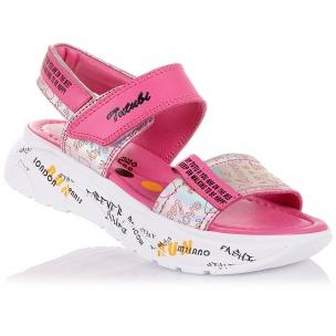 Детская обувь PERLINKA (Яркие босоножки на массивной подошве)