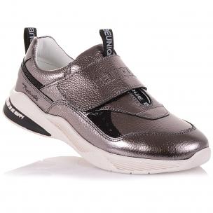 Детская обувь PERLINKA (Кроссовки из кожи на широкой липучке)